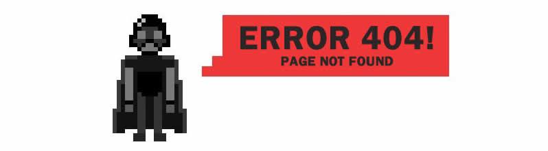 HTTP 404 Página não encontrada
